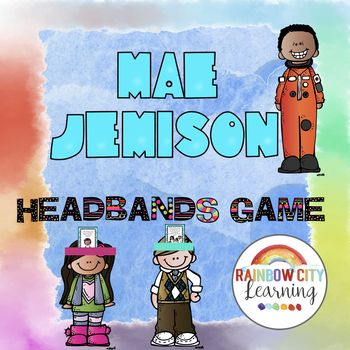 #BlackHistoryMonthWithTpT This Mae Jemison Headbands game will put a new spin on your study of Mae Jemison this year! Headbands games are great for ice breakers, warmups, and review! Easy to use as a whole class activity or at a center. While playing a commercial version of this game with our