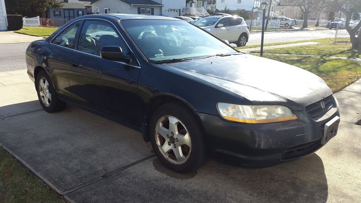 Car brand auctioned:Honda Accord EX 1999 Car model honda accord ex coupe v 6 black w leather and moonroof
