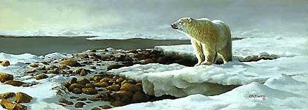 Waiting for the Freeze - Bonnie Marris - World-Wide-Art.com - $150.00