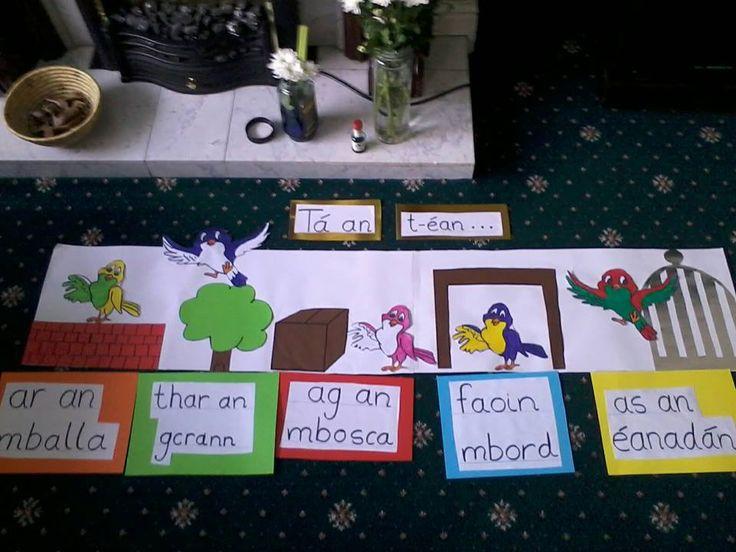 Gaeilge/Irish teaching- réamhfhocal