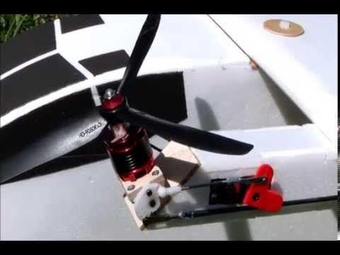 Rc Quad Tilt Rotor Vtol Cargo Motor Mount Youtube Uavs