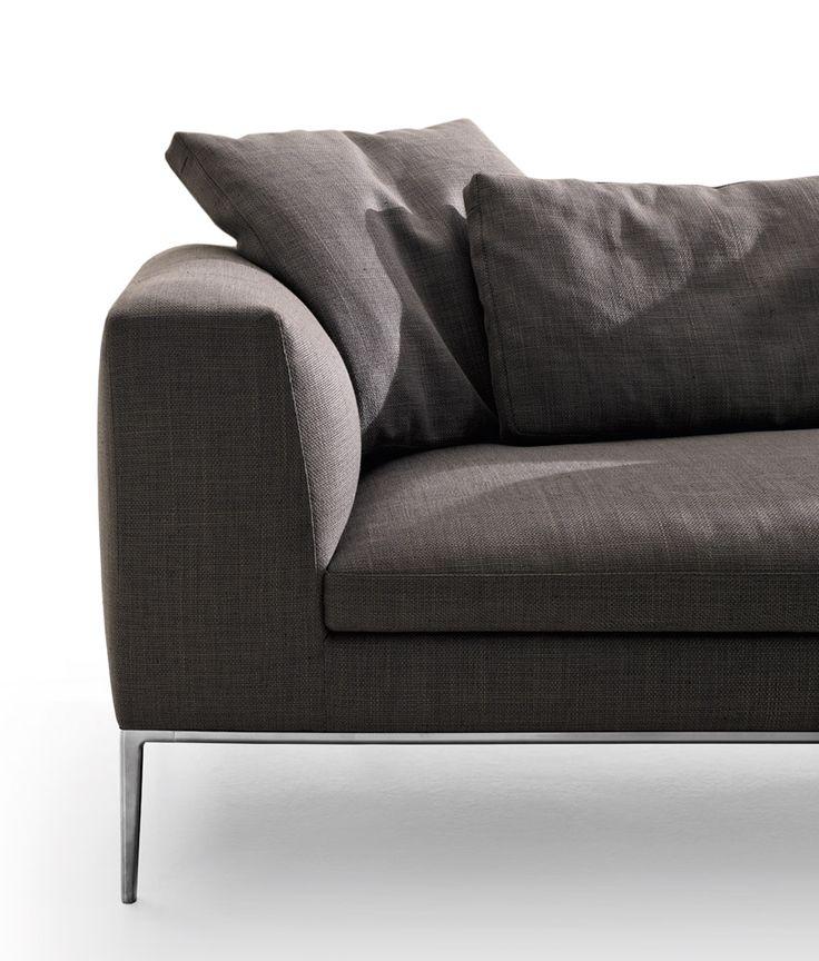 Sofa: MICHEL - Collection: B&B Italia - Design: Antonio Citterio