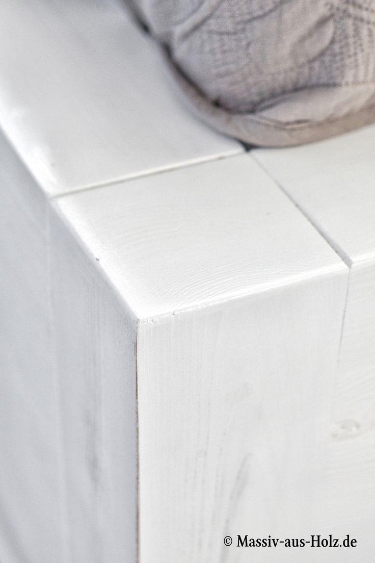 Auf Spuren Skandinavischer Schlichheit U2013 Gewischte Weiße Massivholzmöbel  Bei Www.massiv Aus Holz