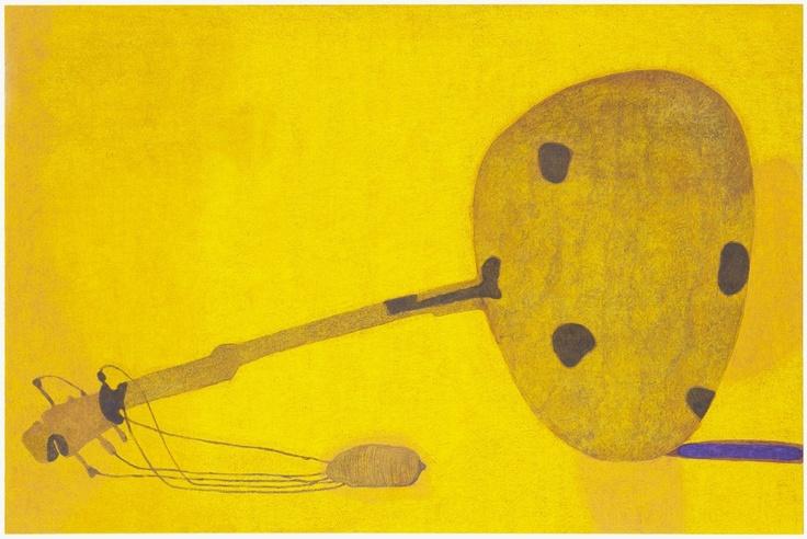 Hannu Väisänen Silent Yellow, oil on canvas 2012