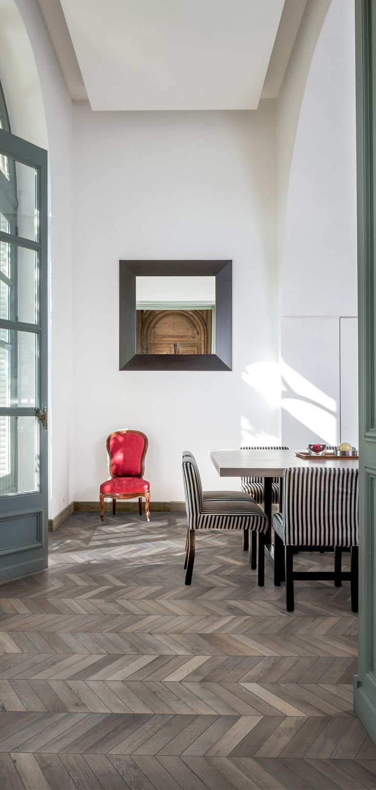 Interieur | Holzboden | Parkett Von Kährs | Ungarischer Fischgrat Chevron  Grey Aus Der Chevron Collection