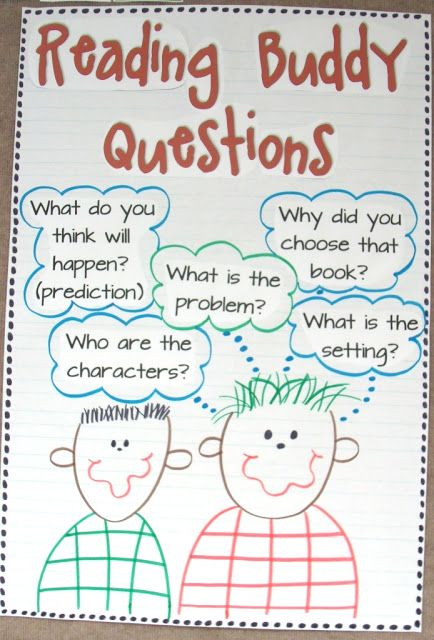 Reading buddies are great because the help one another to grow as readers. It's great to pair students on the same level, but pairing those at different level may also help growth quite a bit
