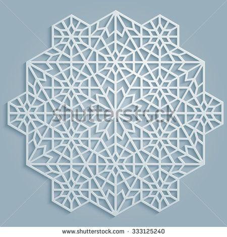 stock-vector-geometric-classic-round-arabic-pattern-persian-arabic-islamic-floral-turkish-symbols-and-333125240.jpg (450×470)