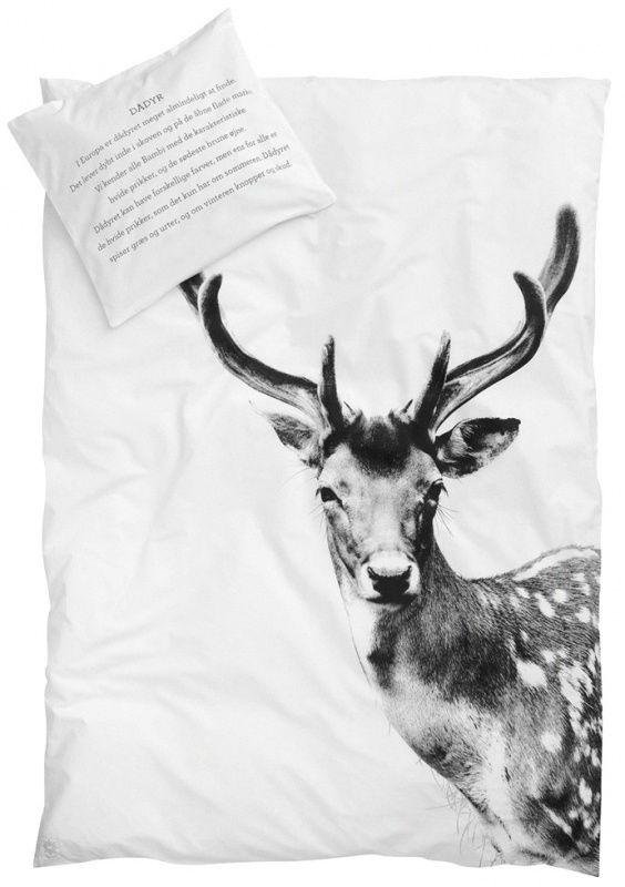 Deer junior bed linen