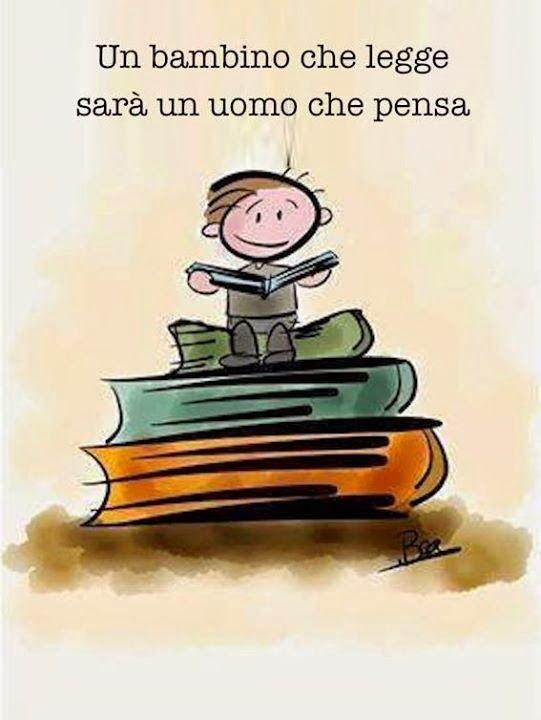 Non basta solo leggere, bisogna insegnare a pensare! Pensieri molto importanti