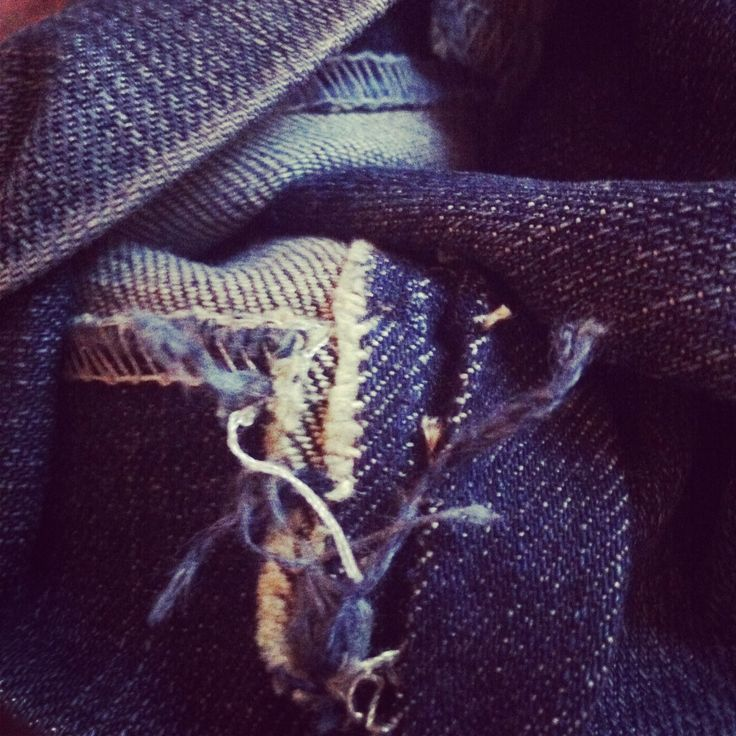 Torn jeans? Perfect for upcycling. #avantgardedress