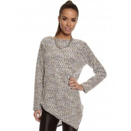 Womens Multi-Coloured Pastels Nikki Knit Top by Backstage.