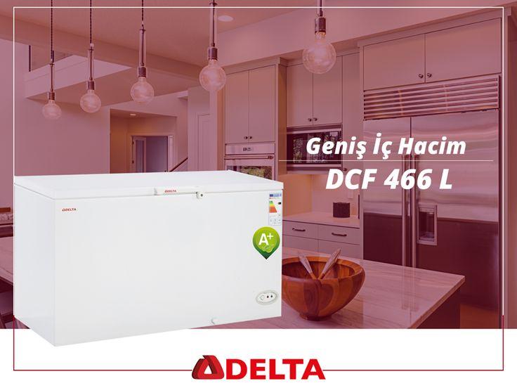 Kış mevsiminde yazın tazeliğini tercih eden geniş aileler için DCF 466 L Delta derin dondurucular hazır. http://www.deltasogutma.com.tr/