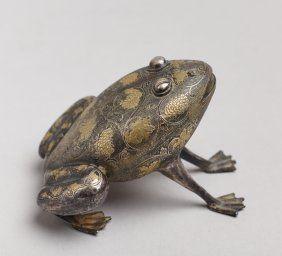 Rare Silver Frog