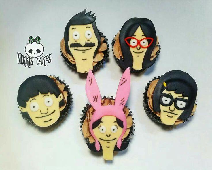 Bob S Burgers Cupcakes From Nikki S Cakes Bob S Burgers