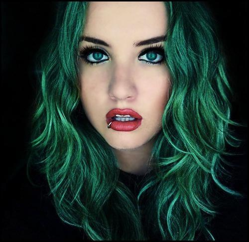 17 Best images about Pretty Green Hair on Pinterest ...