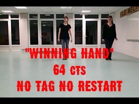 """Winning Hand"" Chore :Montana Mag Stepsheet : http://countryagogo.free.fr/ Music : Cory Morrow. #LineDance"