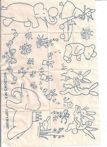 weldons transfer 001 | embroidery , transfer, Weldon's | CHERYL | Flickr