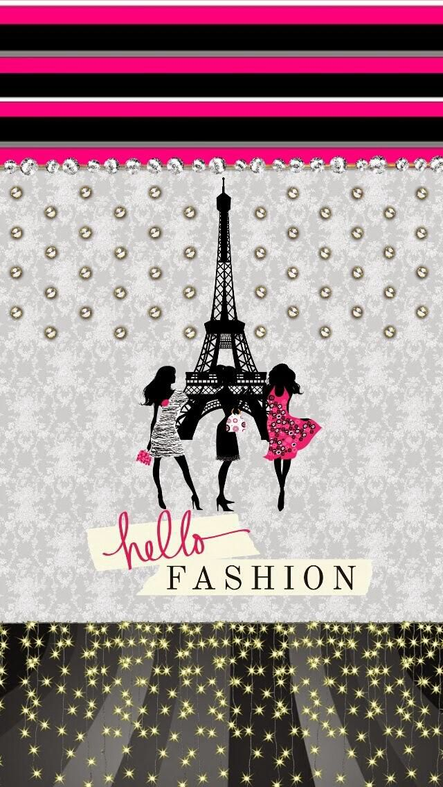 Hello fashion paris france wallpaper case samsung galaxy s - Gingerbread iphone wallpaper ...