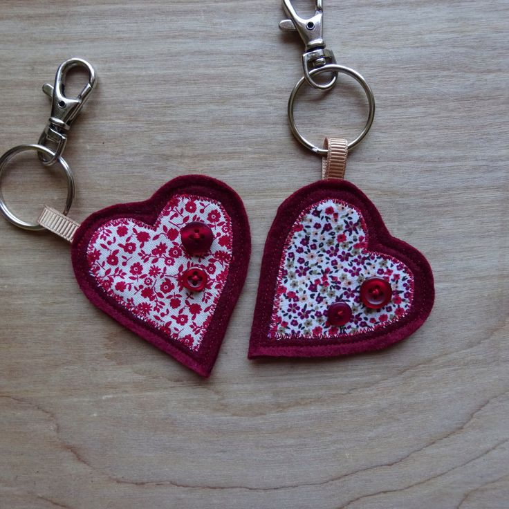 A personal favourite from my Etsy shop https://www.etsy.com/uk/listing/491944792/red-heart-keyring-mothers-day-gift-red