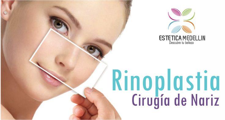 #Rinoplastia.Cirugía de Nariz Pide ya tu cita de valoración #EsteticaMedellin  Teléfono: 2688128 WhatsApp 3218736882