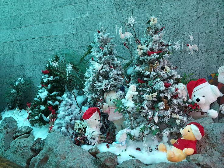 All Nations Church, Seogwipo, Jeju, South Korea one of the Christmas 2017 displays.