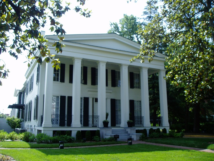 146 best greek revival images on pinterest for Southern architectural styles