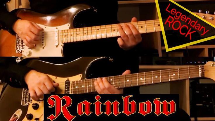 🔴 RAINBOW - Gates of Babylon. Кавер на гитаре от Vladi Lunev