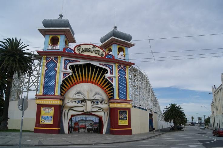 #Travel: Luna Park, St.Kilda, #Melbourne, #Australia.  Photo Credit: Dawne Rudman