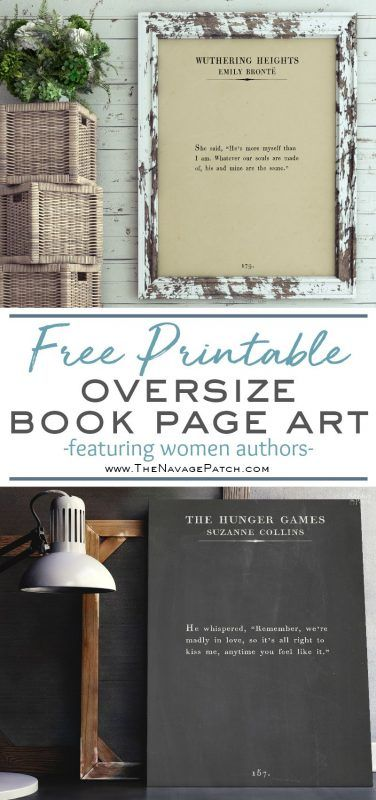 Oversize Book Page Wall Art: Women of the Word | PRINTABLES ...