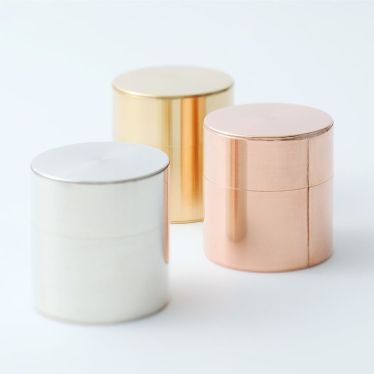 Canisters | Copper, Brass, Silver