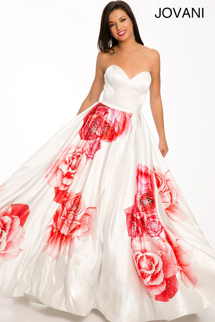 16 best Ball Gown Print images on Pinterest | Prom 2015, Tea length ...