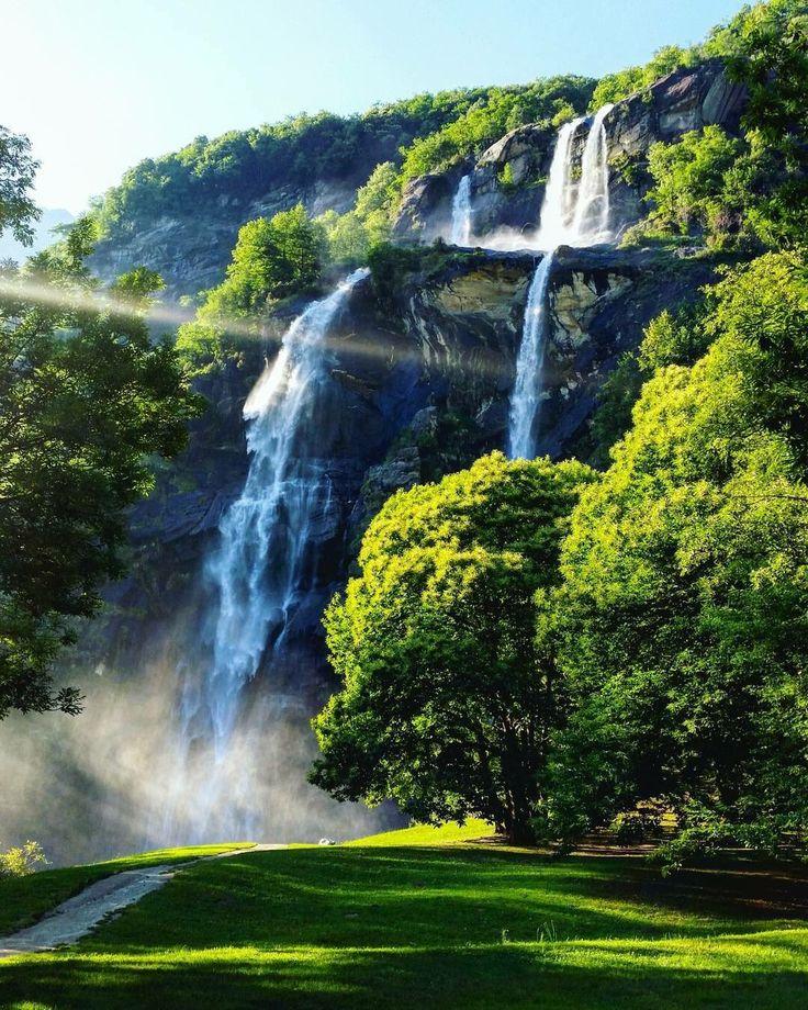 Le Cascate dell'Acquafraggia  Benvenuto in Paradiso! #inLombardia #SpringinLombardia Ph jacopoprimiceri https://t.co/mkbZtaou8o