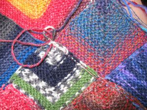 Insanity Blanket Knitting Pattern : Knitting the Ball at Both Ends   The Heathen Housewife Knitting - Insanity ...