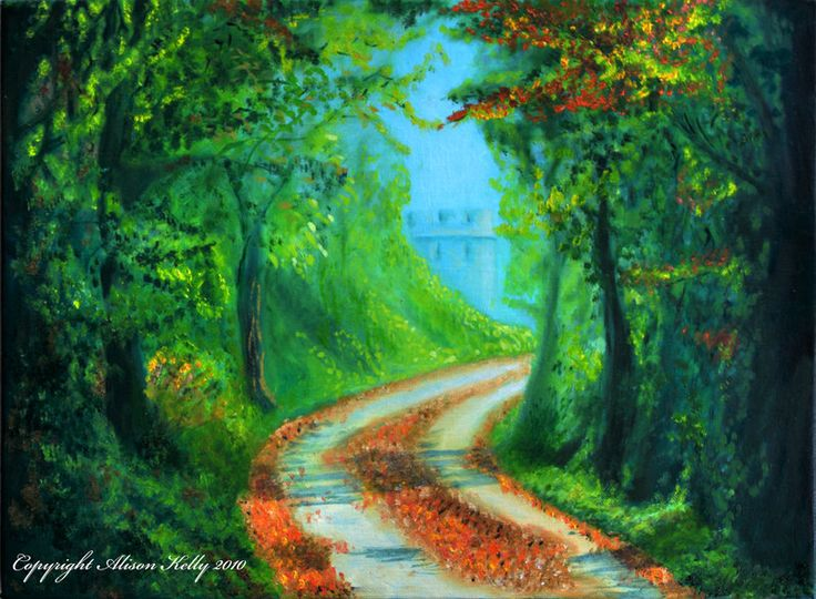 Quintessential Pathways by AlisonAilfinnAllan.deviantart.com on @deviantART