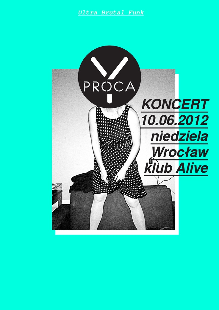 Proca_Y gig poster.