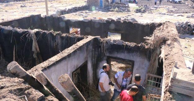 Siverek'te yangında 3 çocuk zehirlenerek öldü