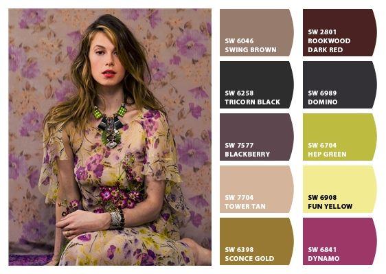 Paint Palettes We Love: 133 Best I Love Color Palettes Images On Pinterest