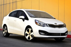 Vroomgirls.com names the Kia Rio as one of the six best new cars for your teenager.