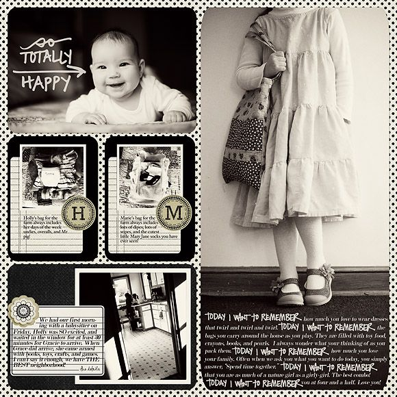 love the black and white: Nice Styles, Photo Layout, Cards Pages, Baby Book, Cards Pics, Large Photo, Projectlife, Picture Book