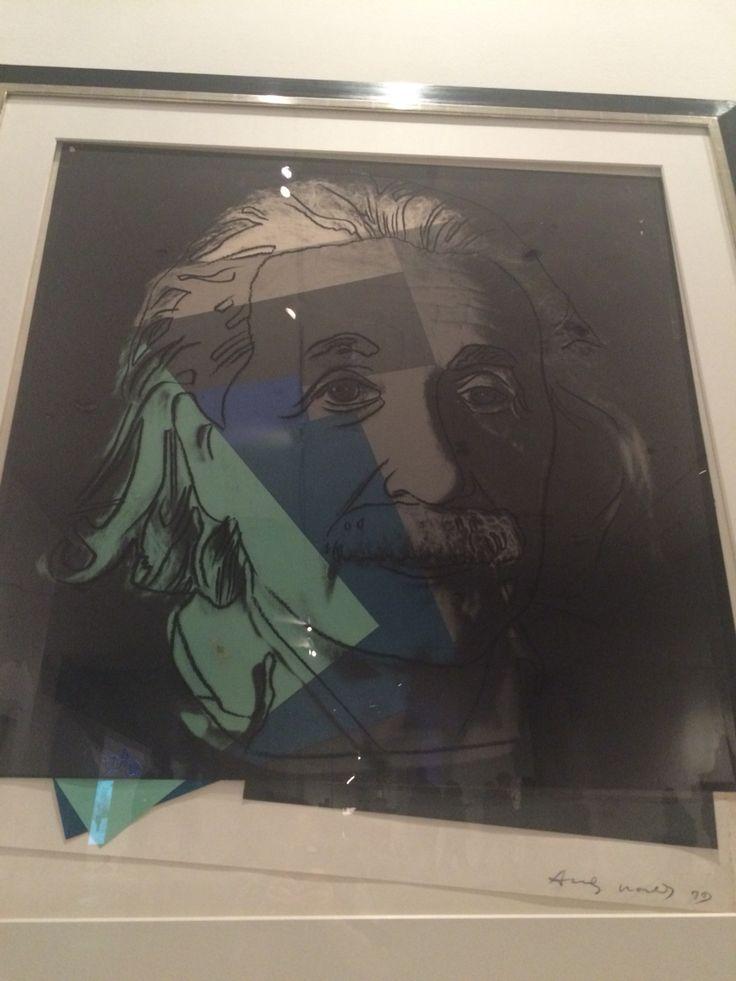 Albert Einstein by #AndyWarhol #10Jews #contemporaryart