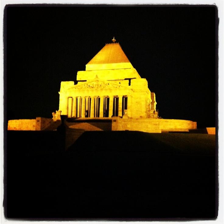 The Shrine in Melbourne