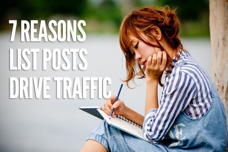 Why list posts are effective at increasing your blog traffic!