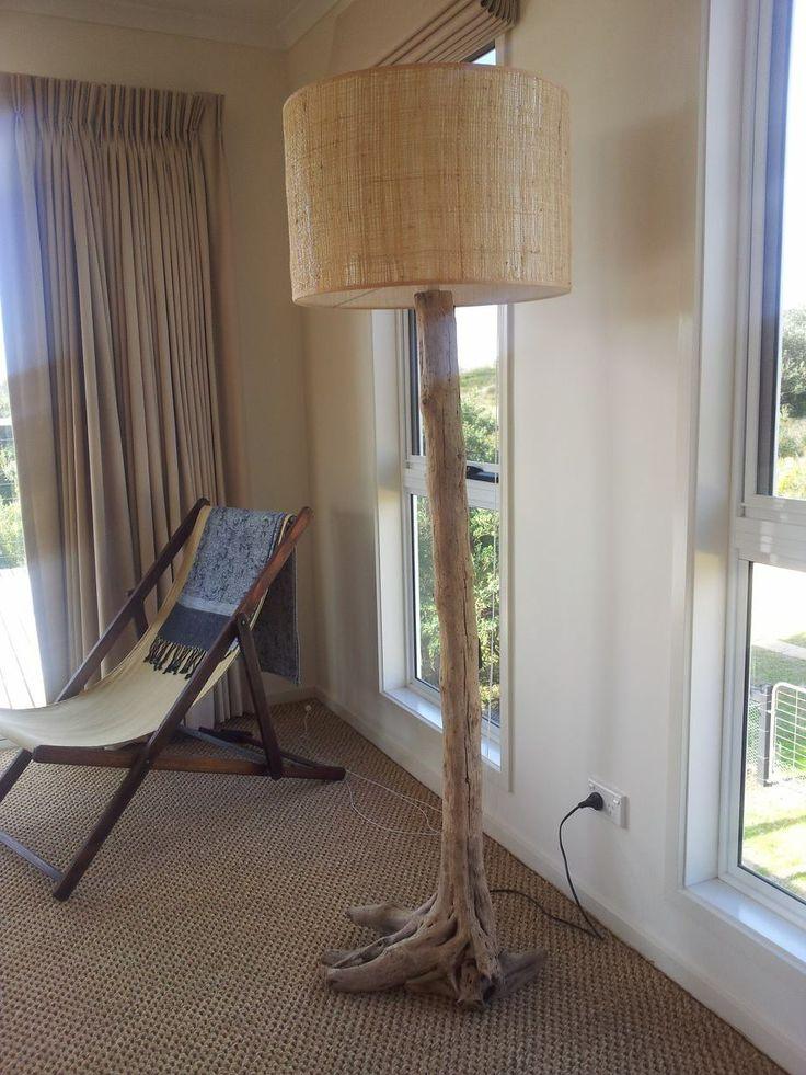 Driftwood lamp.....90 Mile Beach Vic.....