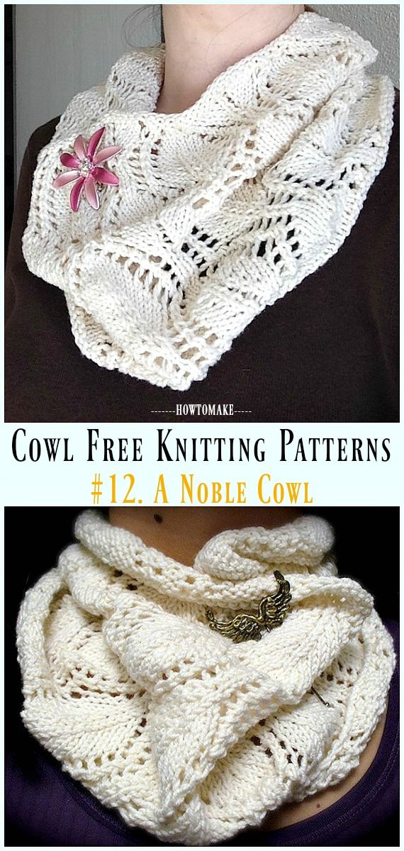 Women Cowl Free Knitting Patterns | Patterns | Pinterest