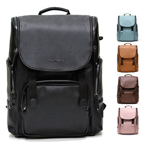 Faux Leather Backpacks for Laptops Good College Backpacks Toppu 326