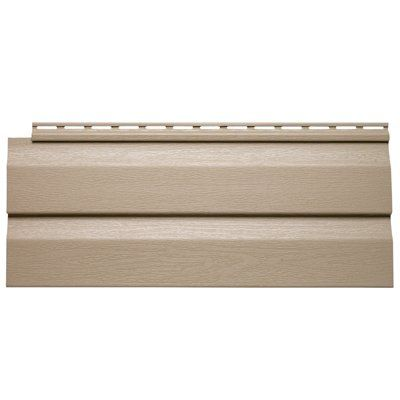 Gentek driftwood 1 piece pebble dutch lap vinyl siding for What is 1 square of vinyl siding