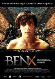 DVD CINE 1680 -- Ben X (2007) Bélxica. Dir.: Nic Balthazar. Thriller. Drama. Discapacidade. Adolescencia. Sinopse: Ben é diferente. Tímido e calado, é o típico mozo que en clase pasaría totalmente inadvertido senón fóra porque é o branco de todas as bromas e crueldades dos fanfurriñeiros do instituto. O seu único refuxio atópase en Internet. Alí evádese a diario co seu xogo de rol favorito no que BEN X, o seu personaxe, é un valeroso e respectado guerreiro ao que os demais xogadores temen