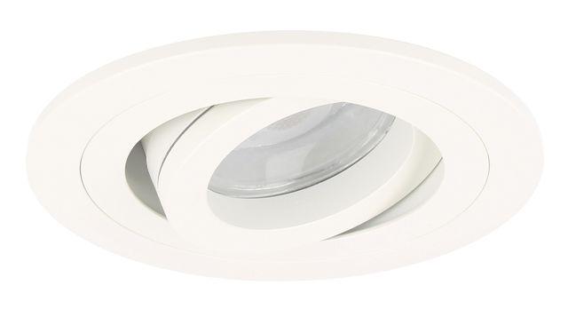 34,95 dimbaar  LED Inbouwspot Argenta wit 7 Watt (Vervangt 50-60W), straalwaterdicht IP65