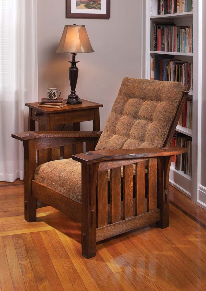 popular furniture wood. gustav stickley morris chair popular furniture wood