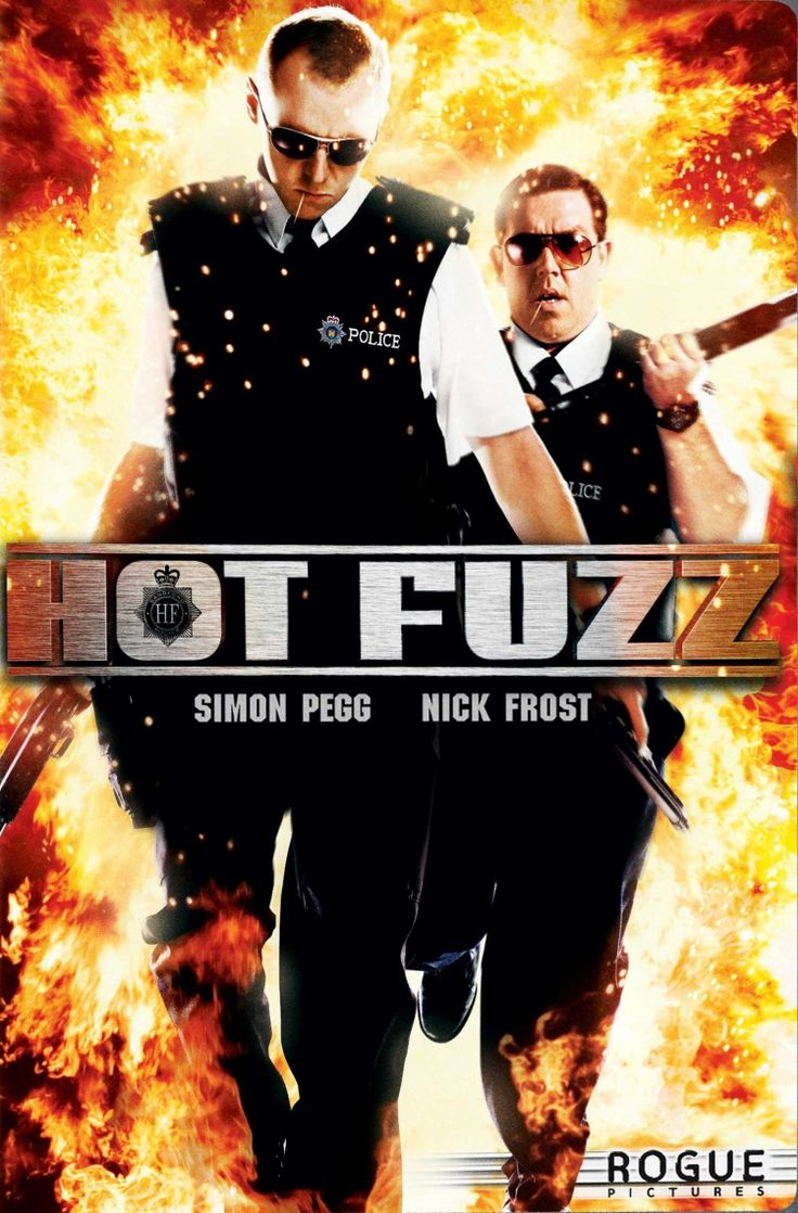 Hot Fuzz (2007). Part 2 of the cornetto trilogy. ♥♥